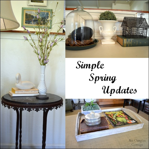 Simple Spring Updates - An Oregon Cottage