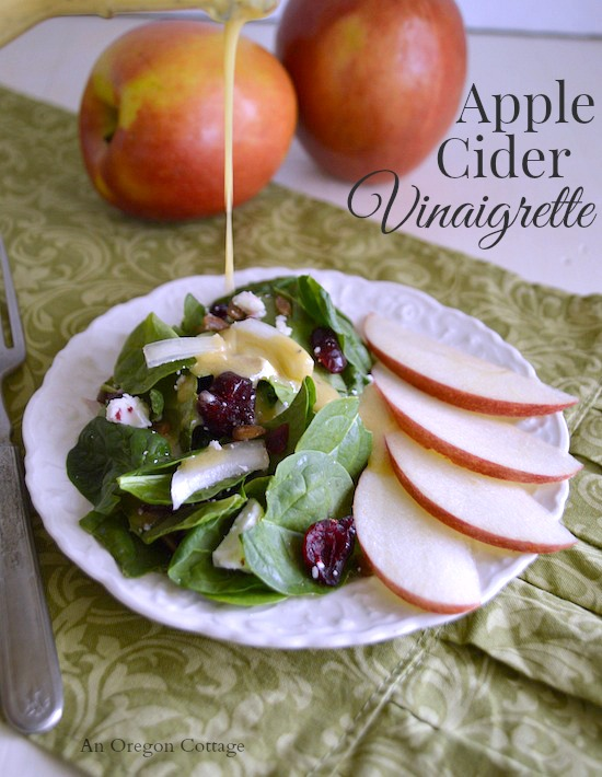 Apple Cider Vinaigrette - An Oregon Cottage