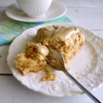 Delicious Frosted Maple-Oat Scones - An Oregon Cottage