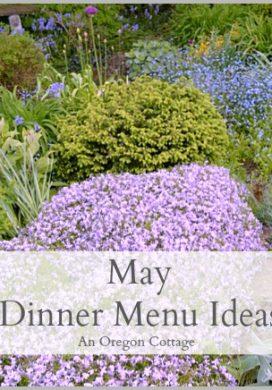 May Dinner Menu Ideas