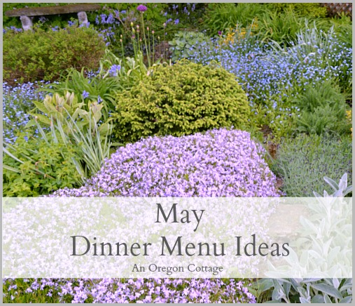 May Dinner Menu Ideas