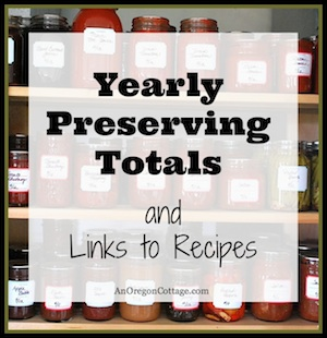 Preserving & Canning Recipes