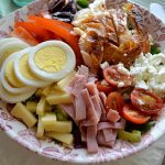 Quick and Easy Chef's Salad in bowl