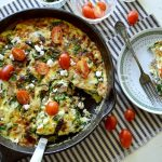 Chicken-Spinach Frittata with Asparagus - An Oregon Cottage