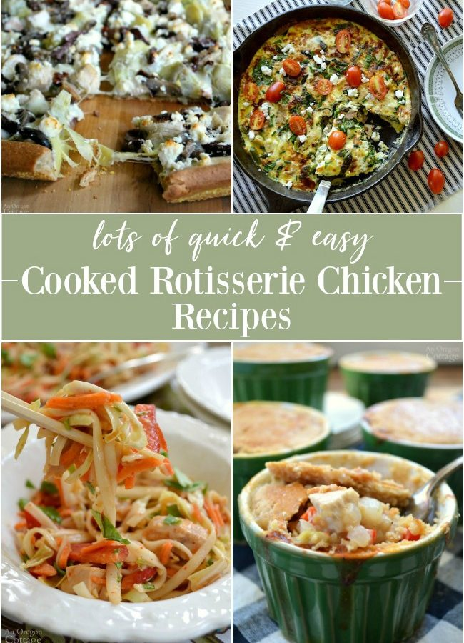 Quick cooked chicken recipes
