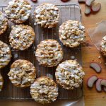 Glazed Orange Rhubarb Muffins - An Oregon Cottage