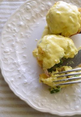 Asparagus and Ham Egg Cups - An Oregon Cottage