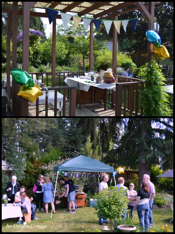 Chalkboard Graduation Party - An Oregon Cottage