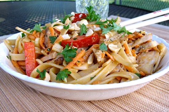 Chicken Noodle Salad - An Oregon Cottage