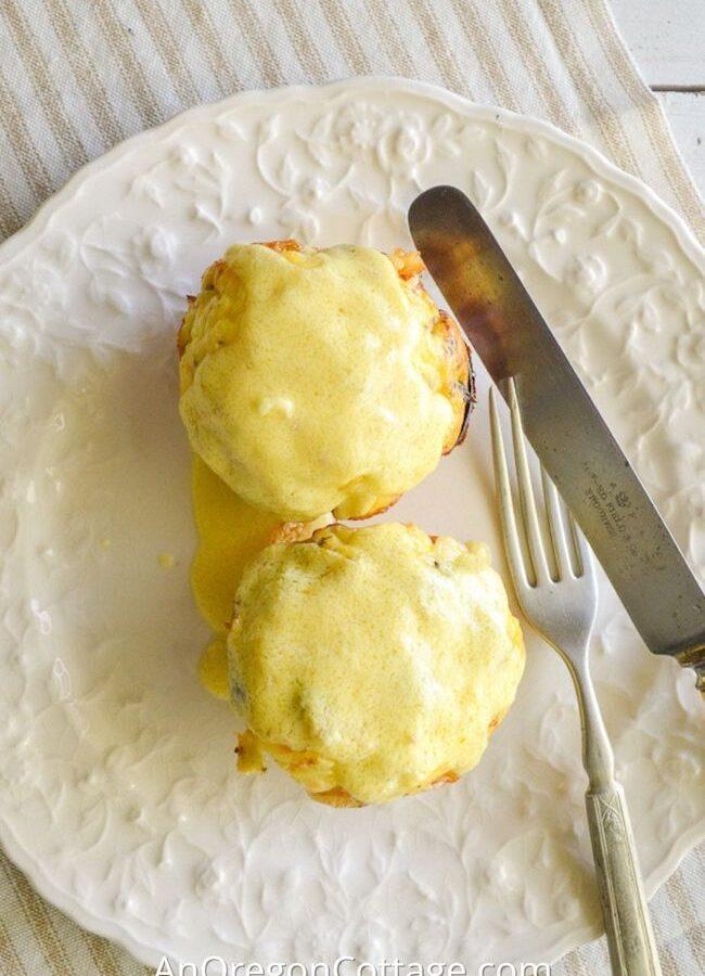 asparagus-ham egg cups-featured image