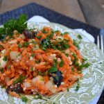 Carrot Feta and Olive Salad - An Oregon Cottage