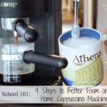 How to Make Better Foam on a Home Cappuccino Machine