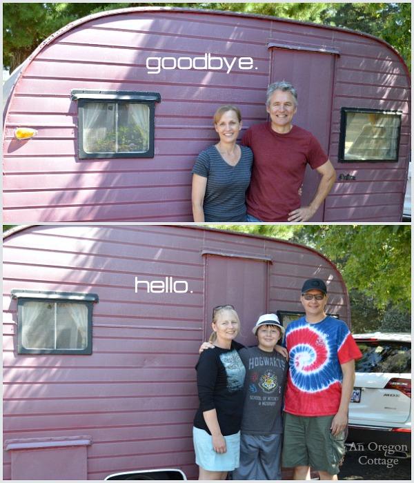 Saying Goodbye to A 1957 Dalton Trailer - An Oregon Cottage