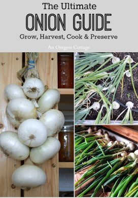 The Ultimate Onion Guide: Grow, Harvest, Cook & Preserve