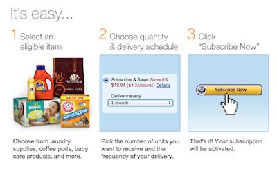 Amazon S&S Steps