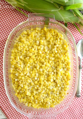Corn Bake Casserole in baking dish