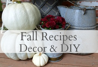 Fall Recipes, Decor & DIY