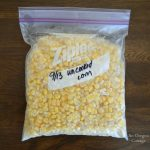 Frozen Unblached Corn Kernels - An Oregon Cottage