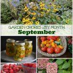September Garden Chores - An Oregon Cottage