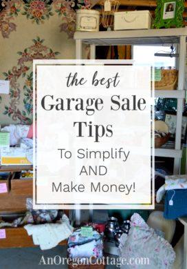 The best garage sale tips