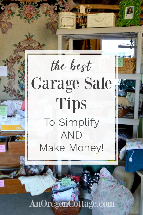 The best garage sale tips