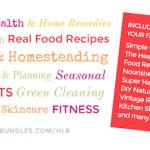 Ultimate Healthy Living Bundle Sale- Fall 2014 via An Oregon Cottage