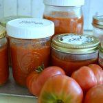 Easy Plain Freezer Roasted Tomato Sauce - An Oregon Cottage