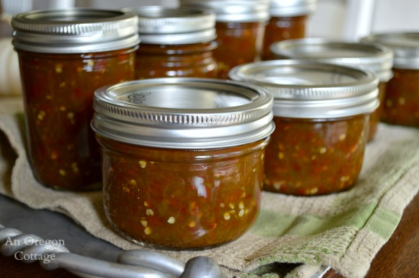 Honey Sweetened Jalapeño Jelly-Jam - An Oregon Cottage