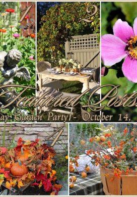 Tuesday Garden Party 10.14.14