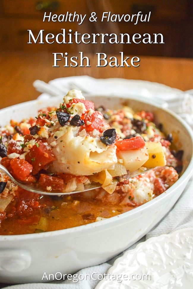 healthy-flavorful-Mediterranean-fish-bake pin
