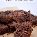 Grain Free Peanut Butter Honey Brownies-An Oregon Cottage