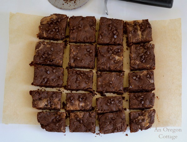 Grain-Free Peanut Butter and Honey Brownies-An Oregon Cottage