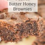 peanut butter brownies-grain free