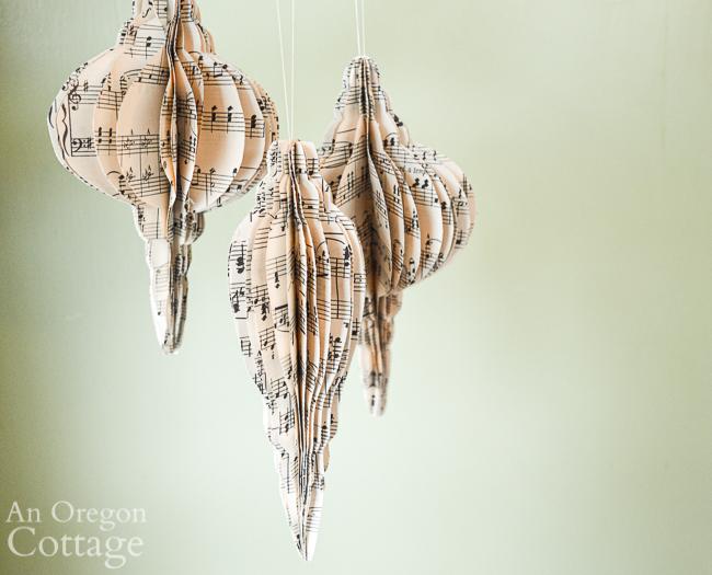 3DMusic Sheet Ornaments