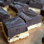 Grain Free Almond Truffle Bars - a paleo, gluten free, easy treat