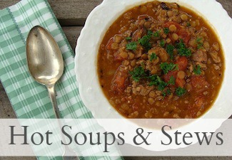 Hot Soups & Stews on An Oregon Cottage