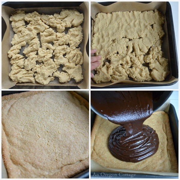 Making Grain Free Almond Truffle Bars