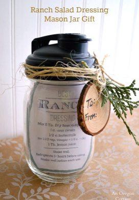 Ranch Salad Dressing Mason Jar Gift