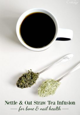 Natural Remedy: Nettle and Oat Straw Tea for Bone Health