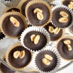 Peanut Butter Chocolate Cups with Honey