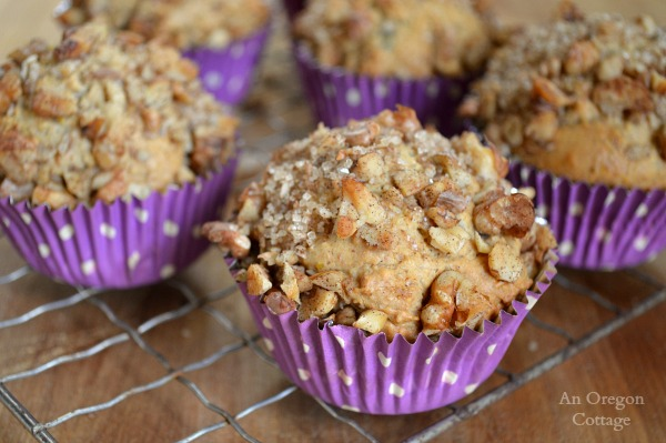 10 Grain Berry-Nut Muffins with Streusel
