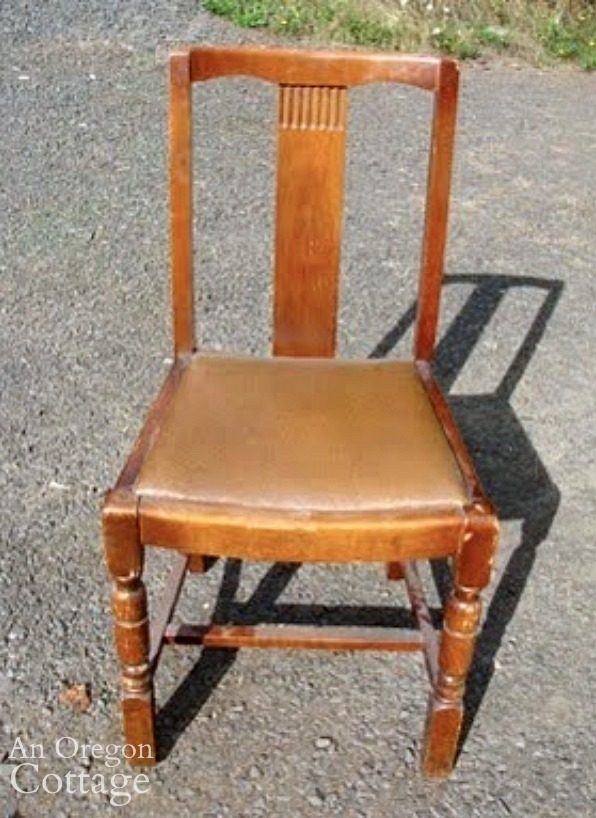 Craigslist dining chair before