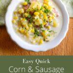 Easy-corn-sausage-chowder