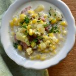Warm and Comforting Quick Corn and Sausage Chowder