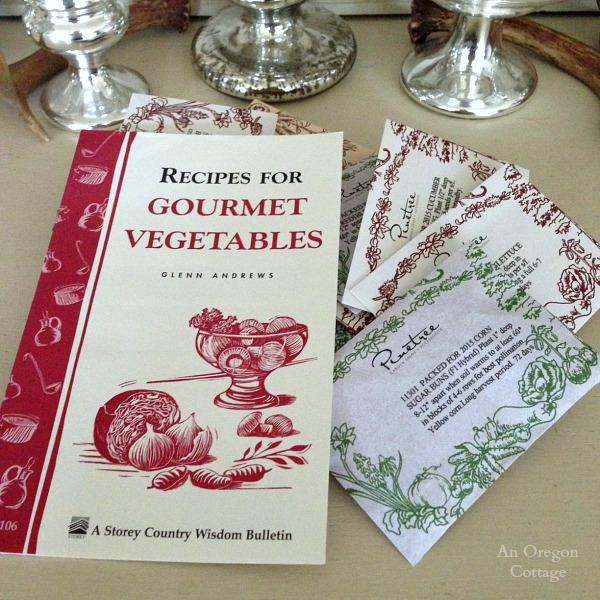 Seed Order and Recipes 2015