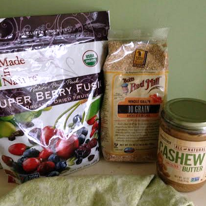 10-grain Berry-Nut Freezer Muffin #spon.products
