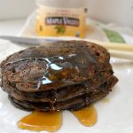 Buckwheat-Oat Gluten Free Pancakes with Maple Syrup