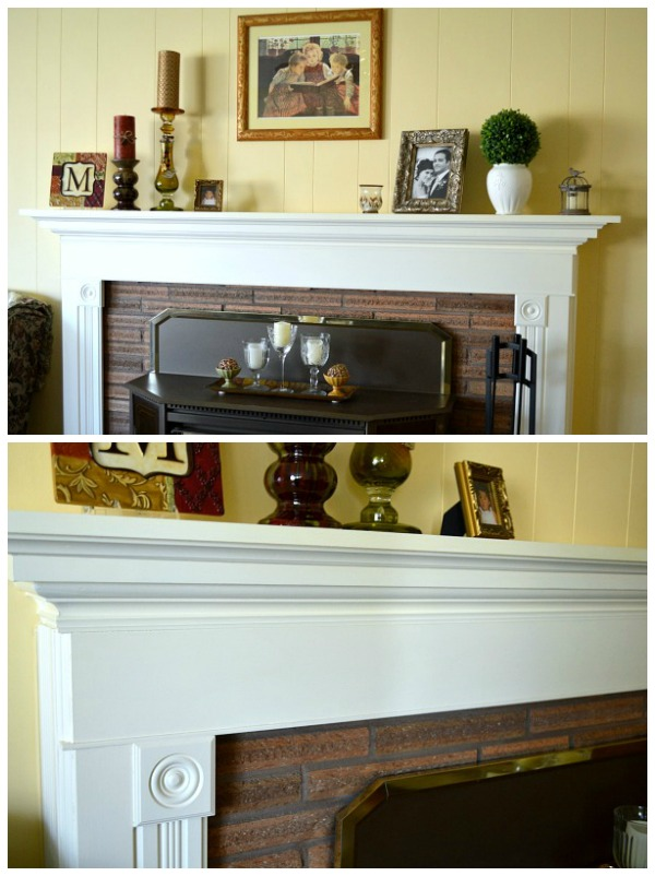 DIY Ranch House Remodel- Fireplace