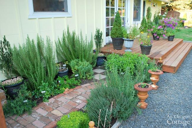 DIY Backyard Makeover-entry deck after