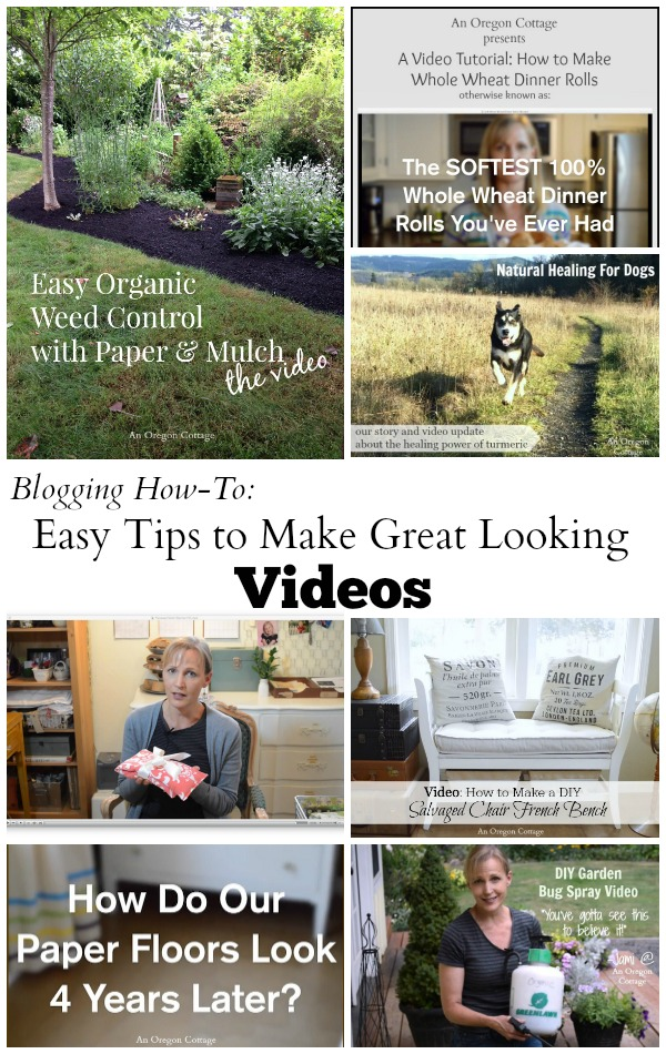 Easy Tips to Make Great Looking Blog Videos